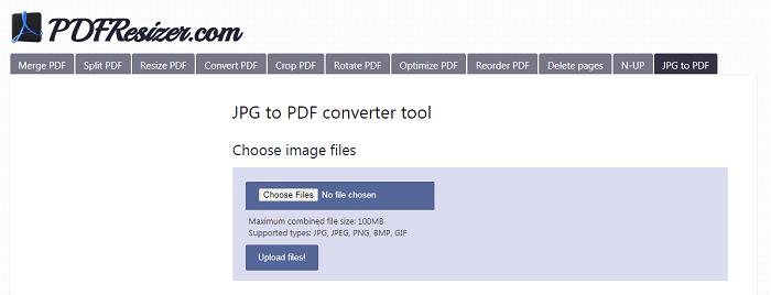 combine jpg to pdf