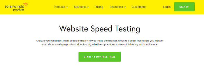site speed test