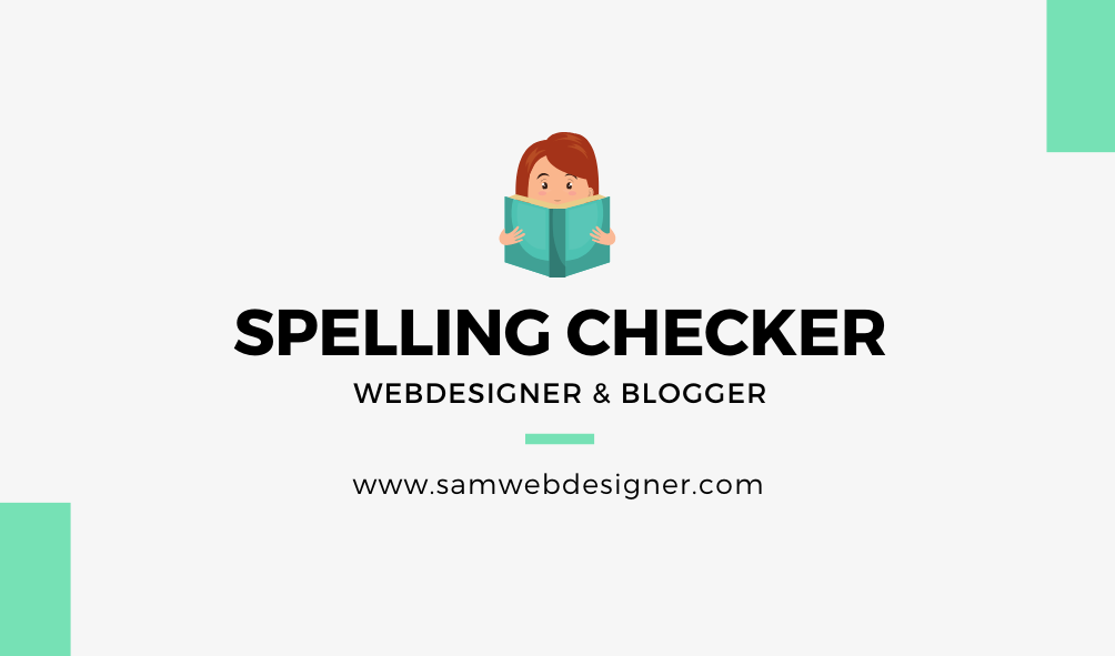 spelling checker tools