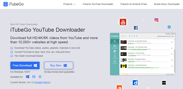 quick youtube video download