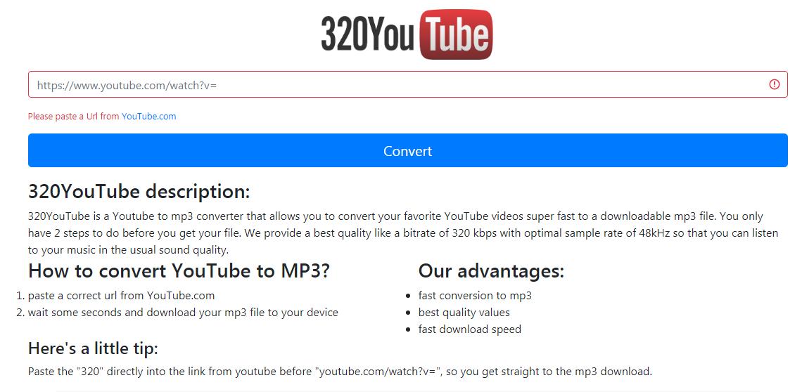 I mp3 youtube