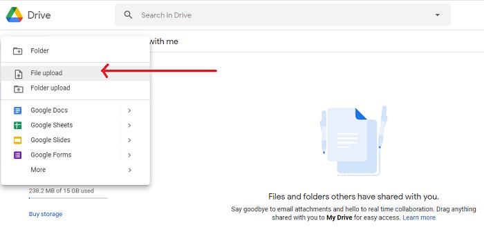 logging google drives