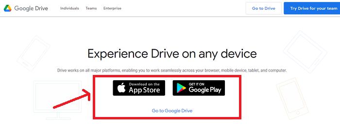 loginto google drive