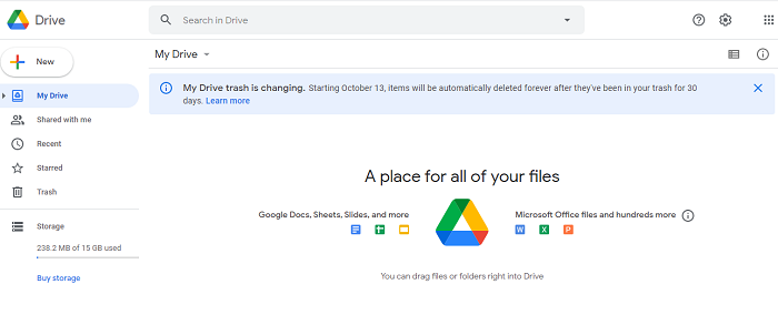 log in to google drive