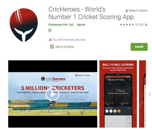 live cricket scoring