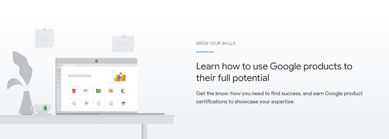 skillshop with google certification