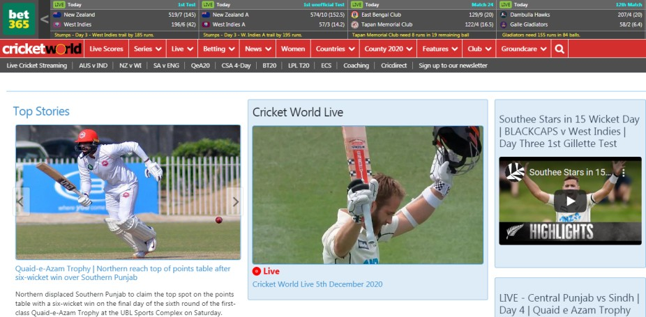 view live cricket
