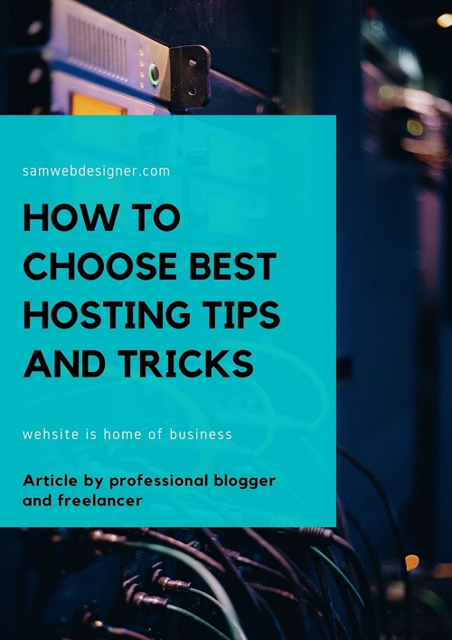 how to choose best hosting