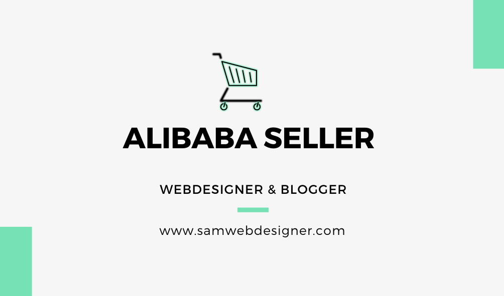 Selling Products in Alibaba