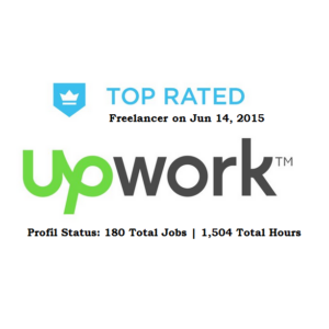 upwork top rated freelancer